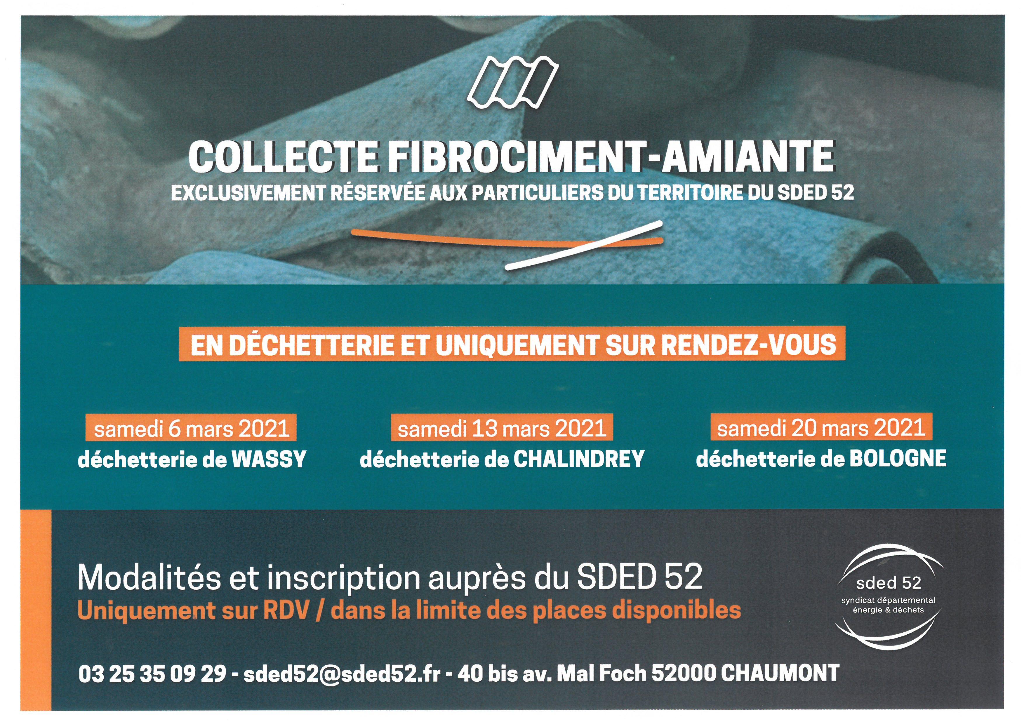 COLLECTE FIBROCIMENT-AMIANTE